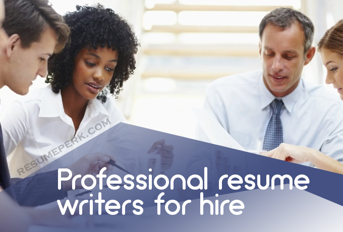 Professional Resume And Cover Letter Writers For Hire resumeperk