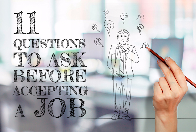 11 Questions To Ask Before Accepting A Job Offer resumeperk