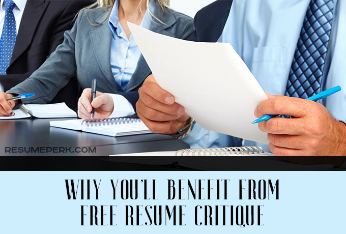 Rate My Resume Why You Will Benefit From A Resume Critique - Resume Critique Free