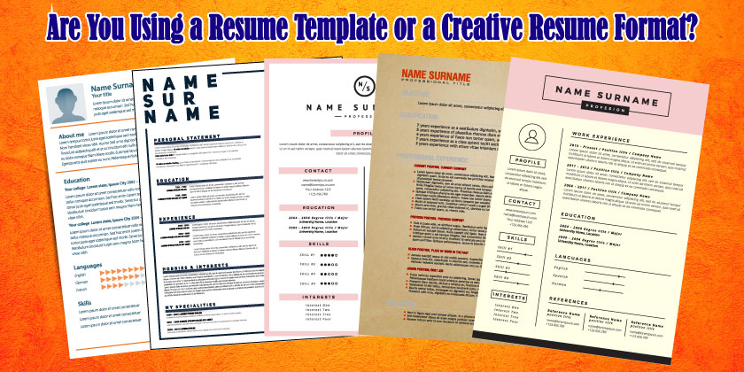 Teacher Resume Template or a Creative Teacher Resume Format