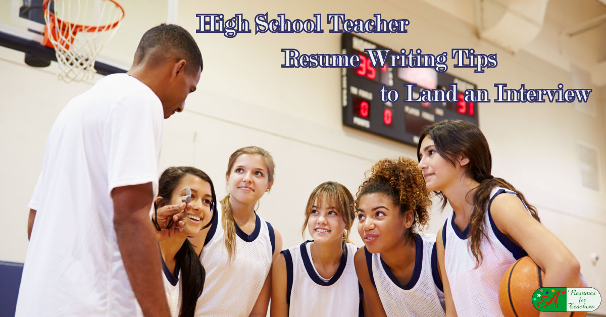 resume examples of teachers