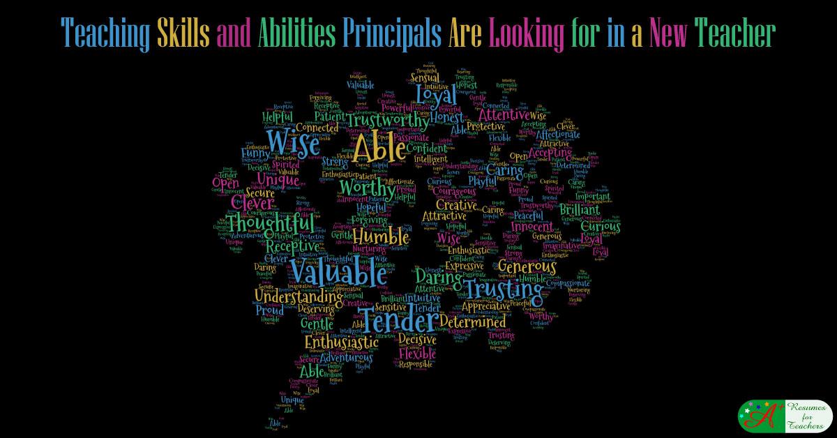 skills for teaching resumes