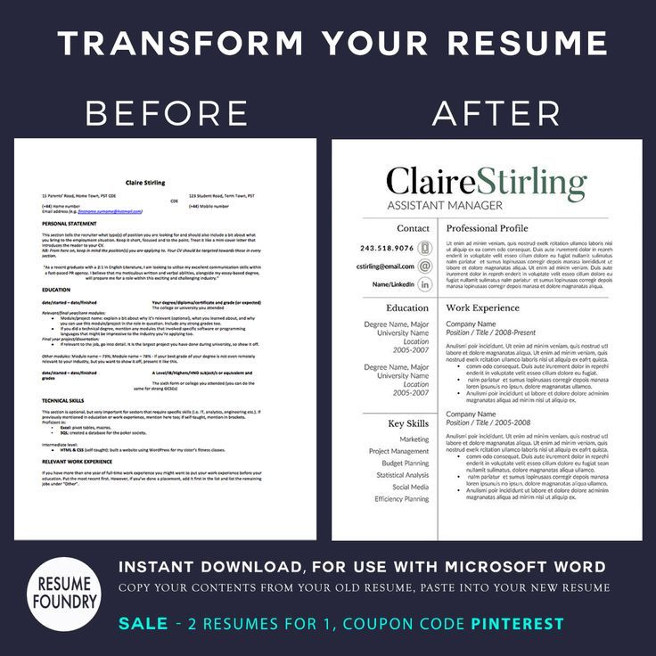 Resume Design  Your resume is the most financially important
