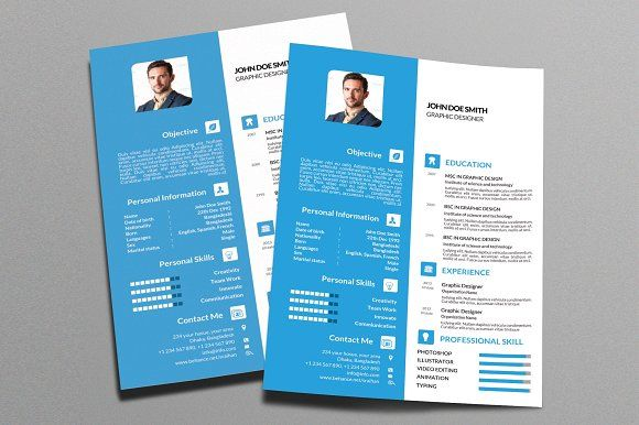 Resume Templates  Design  Colored Resume Template 2018 Vol-1 - photoshop resume templates