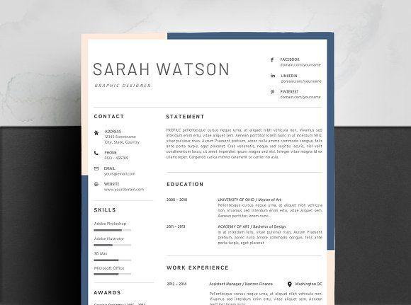 Resume Templates  Design  Creative Resume Template Color