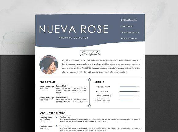Resume Templates  Design  Creative Resume Template Linkedin
