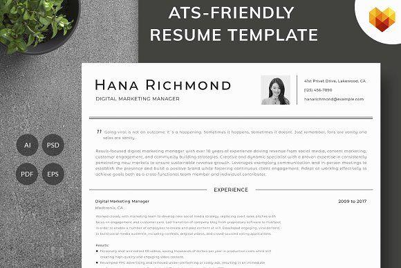 Resume Templates  Design  Digital Marketing Manager Resume