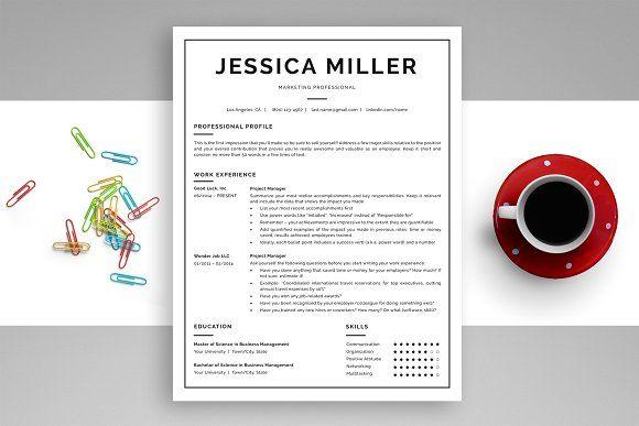 Resume Templates  Design  Classic Resume Template CV + Bonus