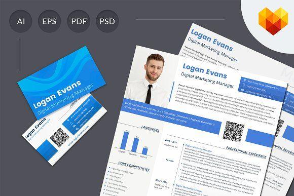 Resume Templates  Design  Digital Marketing Resume Template