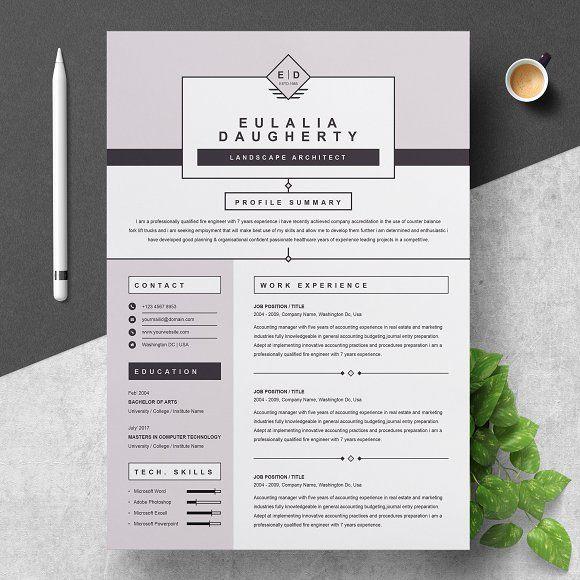 Resume Templates  Design  Modern Resume Template CreativeWork247