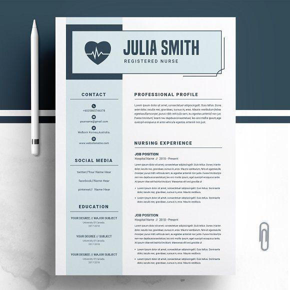 Resume Templates  Design  Nurse Resume/Medical Resume Template - resume templates for designers