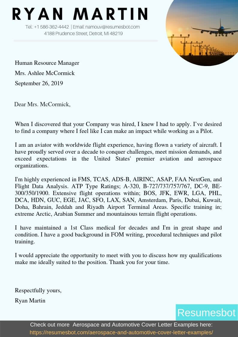 resume and cover letter review service