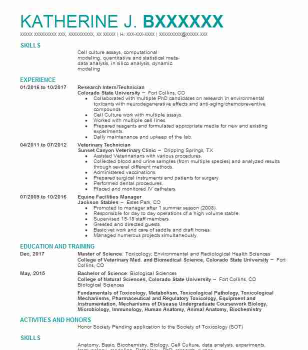4031 Medical Scientists And Epidemiologists Resume Examples - epidemiologist sample resumes