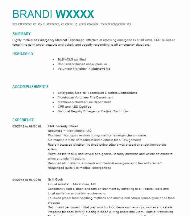 Find Resume Examples in Sikeston, MO LiveCareer - Cover Letter Template Docesthetician Cover Letter
