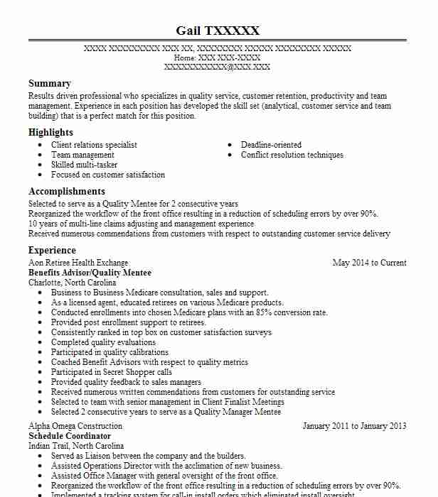 Claims Adjuster Trainee Resume Sample Trainee Resumes LiveCareer