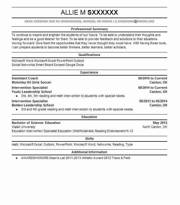 259 School Counseling Resume Examples in Ohio LiveCareer