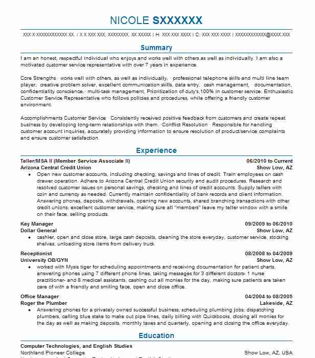 Plumber Apprentice Resume Sample Resumes Misc LiveCareer - Cash Management Officer Sample Resume