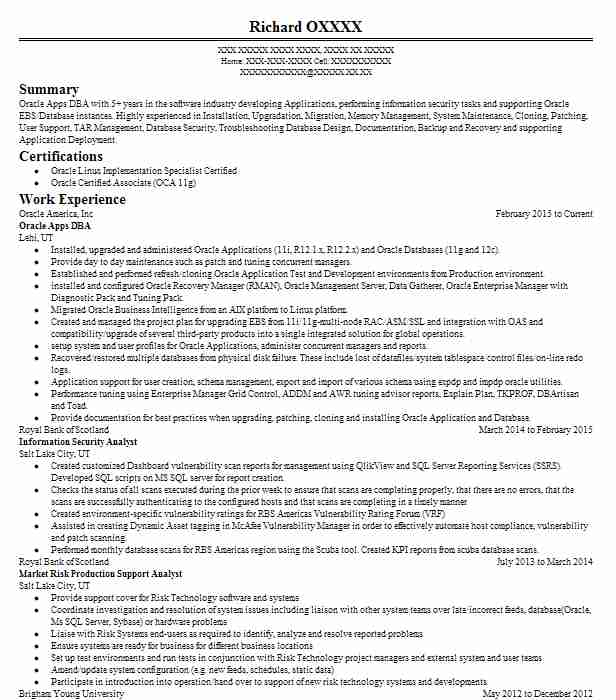 Eye-Grabbing Security And Risk Management Resumes Samples LiveCareer - Sample Risk Management Resume