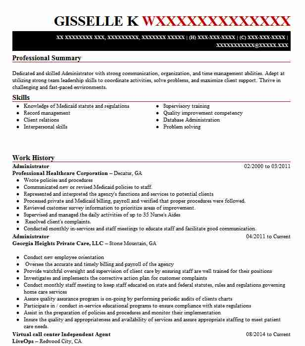 32 Healthcare Management Resume Examples Business Resumes LiveCareer