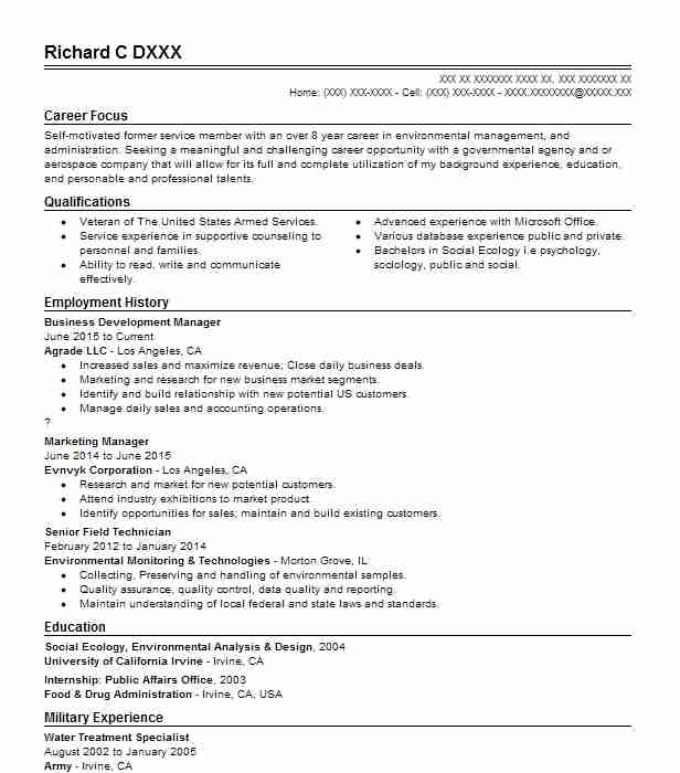 Business Development Manager Resume Sample Resumes Misc LiveCareer - Resume Business Manager