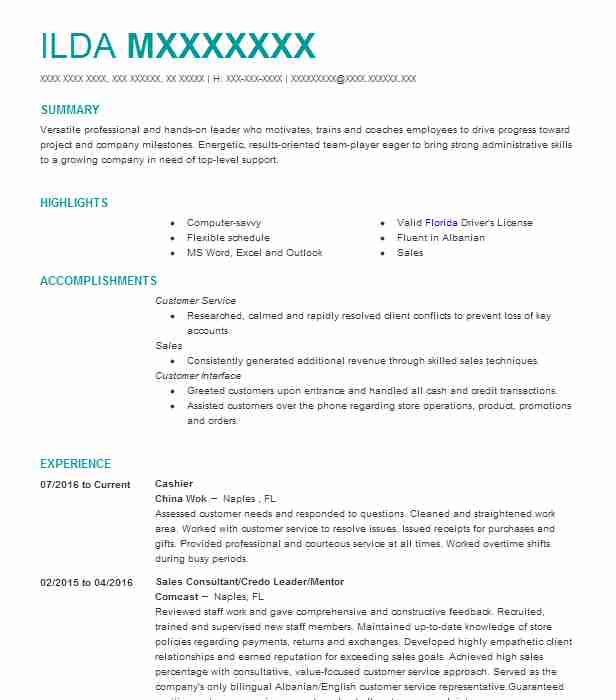 Assistant Funeral Director Resume Example (Stuart Mortuary