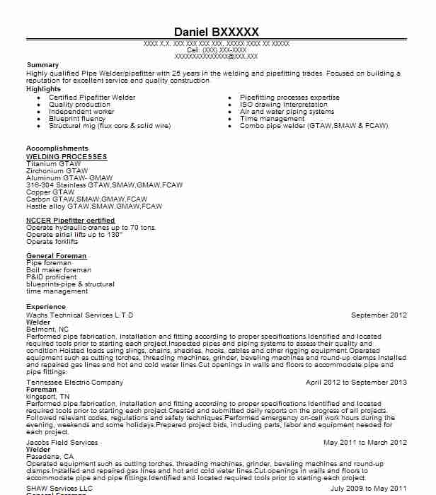 journey level pipefitter resume fascinating pipe fitter job