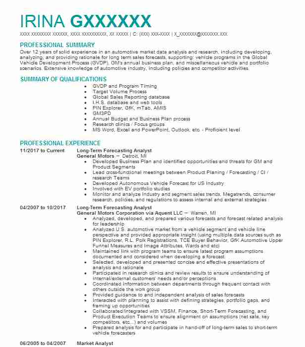 Best Market Researcher Resume Example LiveCareer - Marketing Research Resume