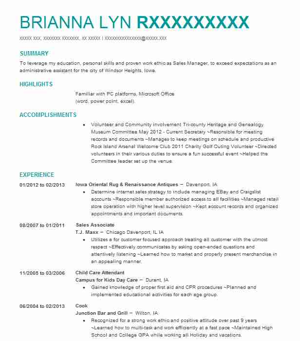 County Extension Agent Resume Example (Alabama Cooperative Extension