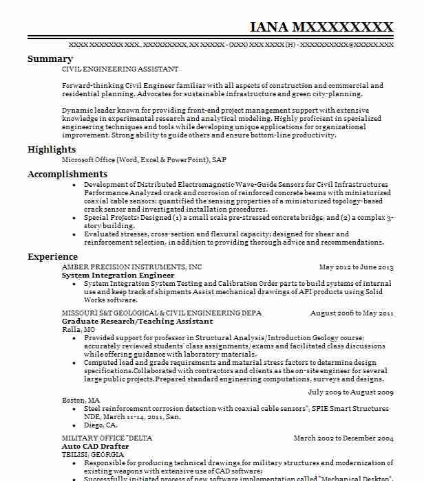 System Integration Engineer Resume Sample LiveCareer