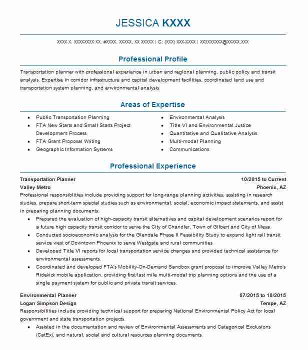 1204 Urban And Regional Planning Resume Examples Architecture - urban planning resume