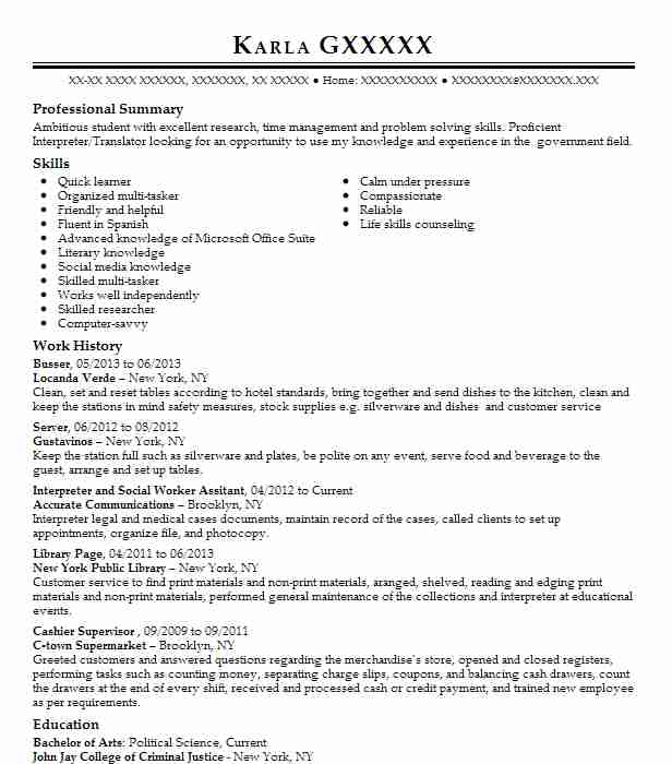 8 Political Science Resume Examples Government Resumes LiveCareer - political science resume