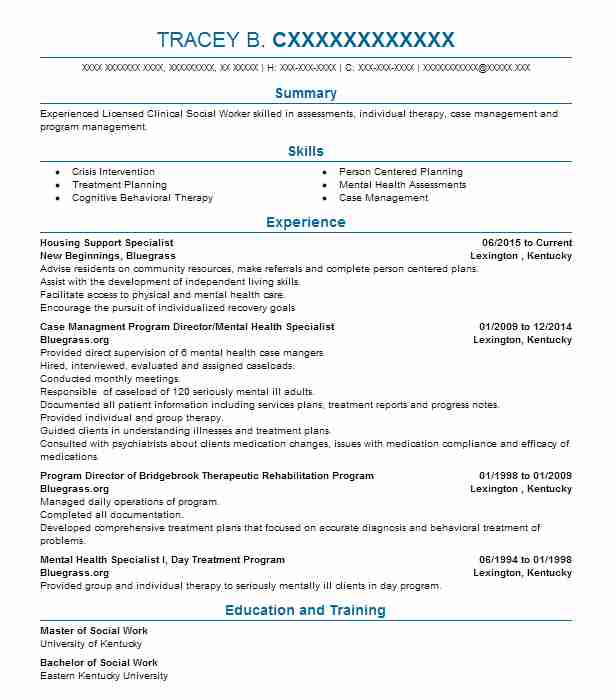 Independent Living Specialist Sample Resume Free Federal Resume