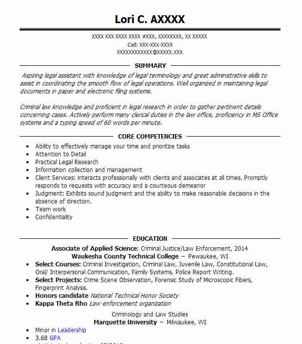 21 Court Reporting Resume Examples in Wisconsin LiveCareer - Court Reporter Resume Samples