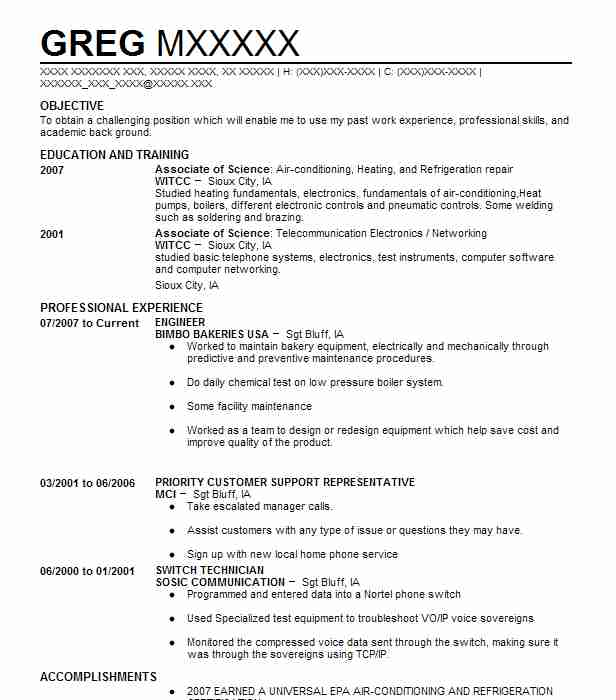 142 Industrial Engineers Resume Examples in Iowa LiveCareer - industrial engineering resume