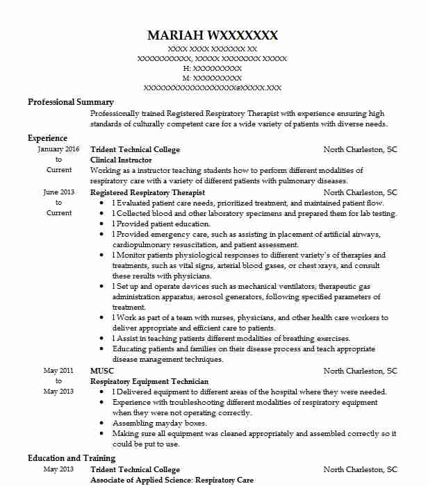 Clinical Instructor Resume Sample Instructor Resumes LiveCareer