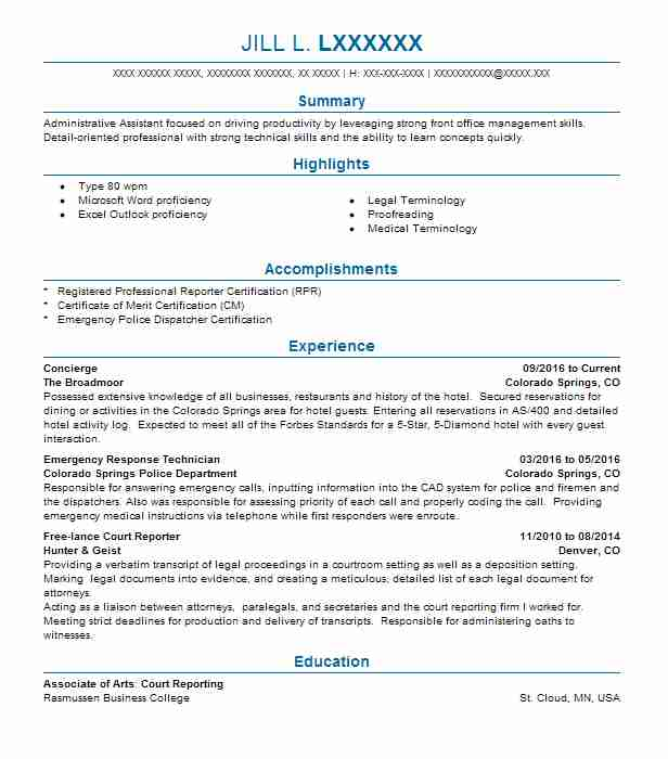 Court Reporter Resume Samples Gallery Of Court Reporter Resume - Court Reporter Resume Samples