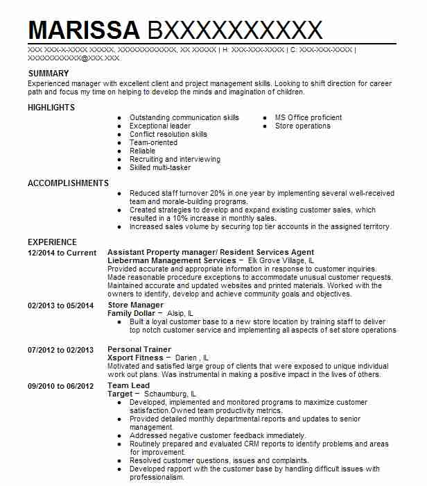 Property Assessor Resume Sample Resumes Misc LiveCareer