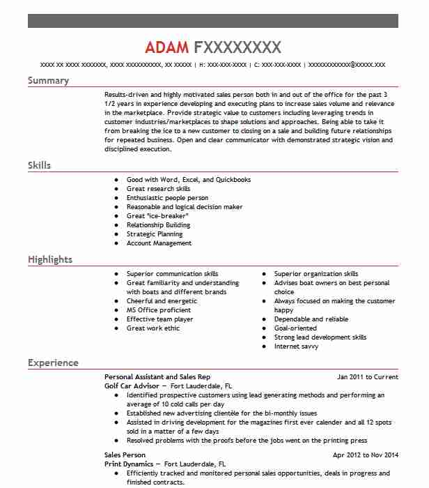 31497 Inside Sales Resume Examples Sales Resumes LiveCareer - Inside Sales Resume