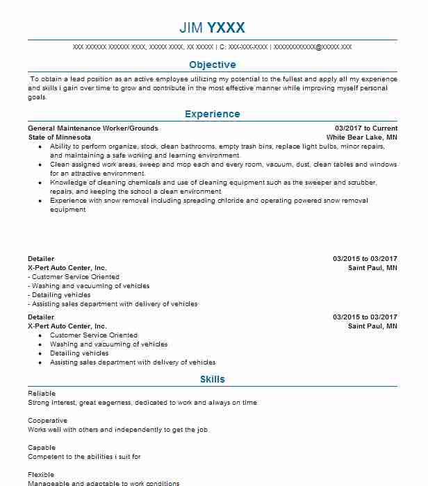 Maintenance Carpenter Resume Sample Carpenter Resumes LiveCareer - rough carpenter sample resume