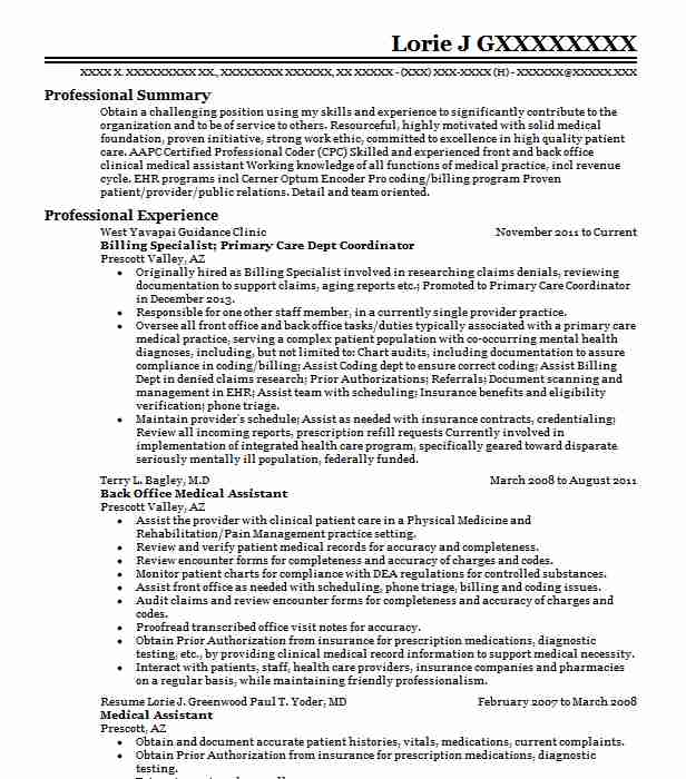 Ophthalmologist Resume Sample Resumes Misc LiveCareer