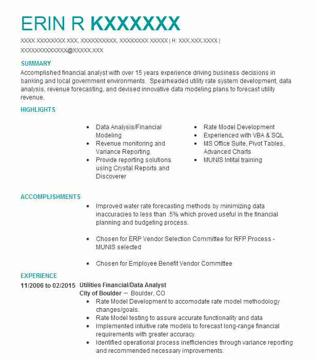 Best Business Analyst Resume Example LiveCareer - Business Analytics Resume