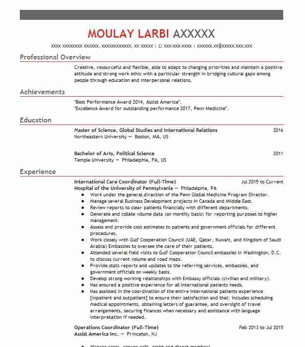 4438 Political Science Resume Examples Social Sciences Resumes