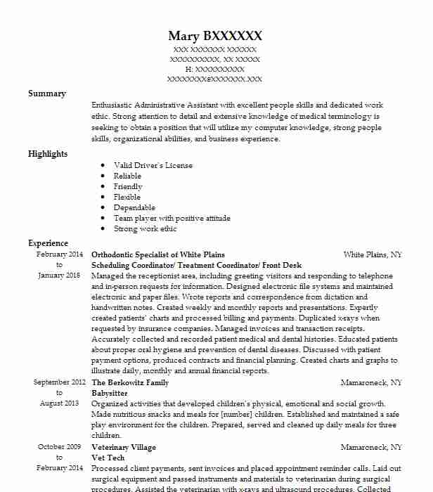 Nanny / Household Manager/Preschool Teacher Resume Example (Self