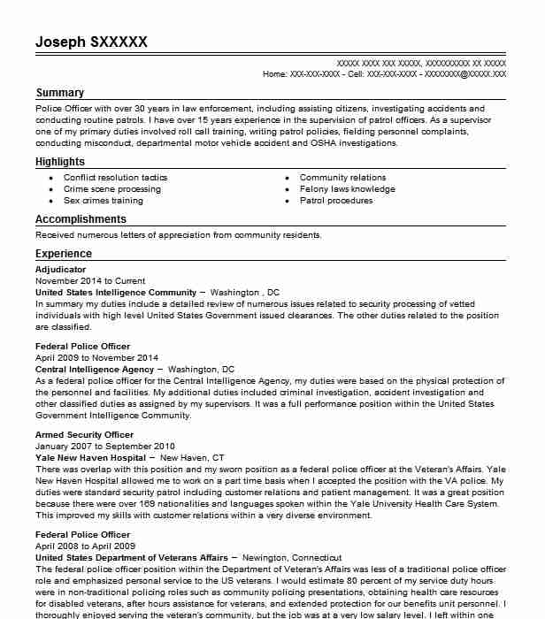 Adjudicator Resume Sample Resumes Misc LiveCareer
