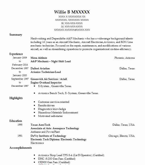20622 Transportation And Distribution Resume Examples