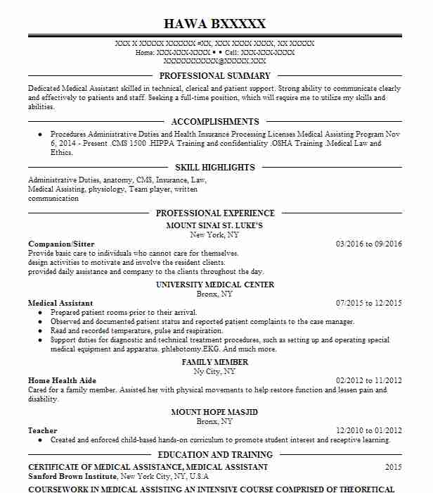 Best Nursing Aide And Assistant Resume Example LiveCareer