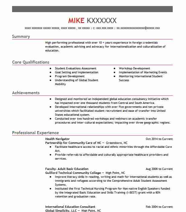 31 Credentialing Specialist Resume Examples in North Carolina - reading specialist resume