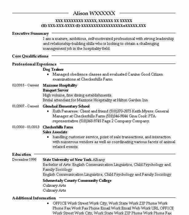 Dog Trainer Resume Sample Trainer Resumes LiveCareer