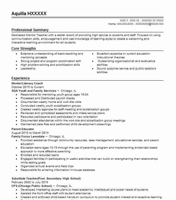 9204 Continuing Education Resume Examples Education And Training