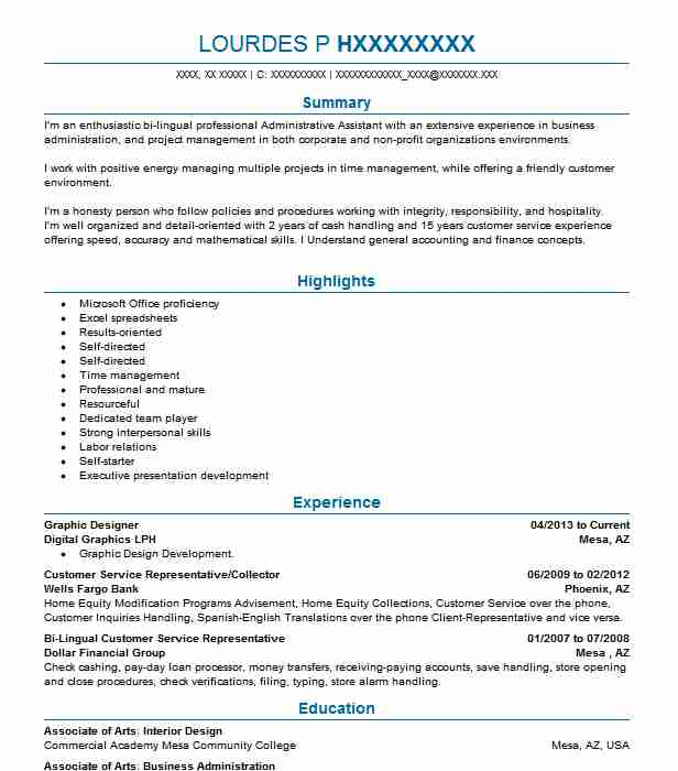 Best Graphic Designer Resume Example LiveCareer